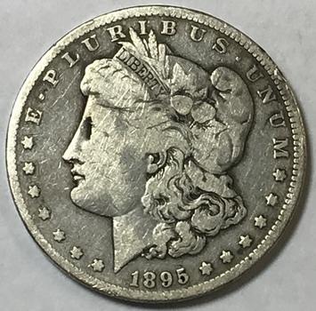 Key Date 1895-O Morgan Silver Dollar