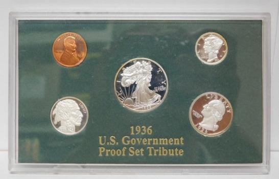 1936 U.S Government Proof Tribute Replica Set
