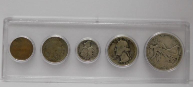 1934 U. S. Silver Mint Set in Whitman Holder