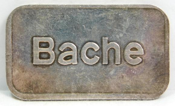 Vintage Bache - One Ounce .999 Fine Silver Bar