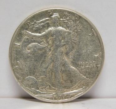 1944 Silver Walking Liberty Half Dollar - Nice Detail - Philadelphia Minted