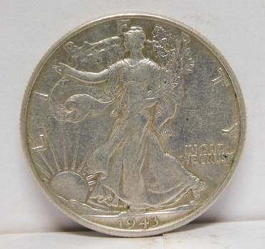 1943 SILVER Walking Liberty Half Dollar - Nice Detail! - Philadelphia Minted