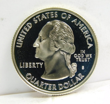 2000-S SILVER Proof Maryland Commemorative State Quarter - Excellent Detail and DCAM