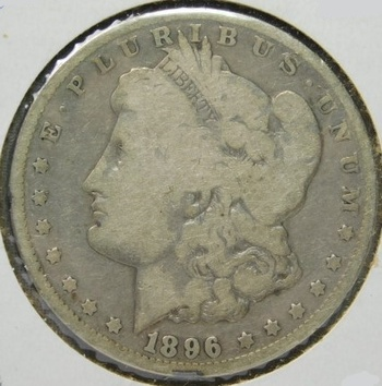 SCARCE DATE! - 1896-O MorganSilver Dollar - Well Outlined with LIBERTY Visible