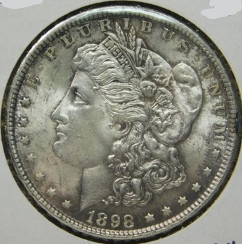 HIGH GRADE!! - 1898 Morgan Silver Dollar - Excellent Detail with Luster