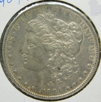 SCARCE DATE!! - HIGH GRADE!! - 1904 Morgan Silver Dollar - Excellent Detail