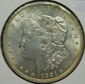 HIGH GRADE!! - LAST YEAR of ISSUE! - 1921 Morgan Silver Dollar - Excellent Detail and Luster