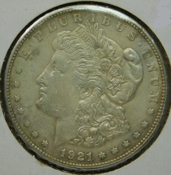 HIGH GRADE!! - LAST YEAR of ISSUE -  1921-S Morgan Silver Dollar - Excellent Detail