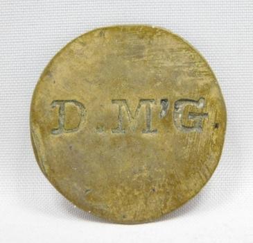 Vintage D.M'G Maverick Trade Token