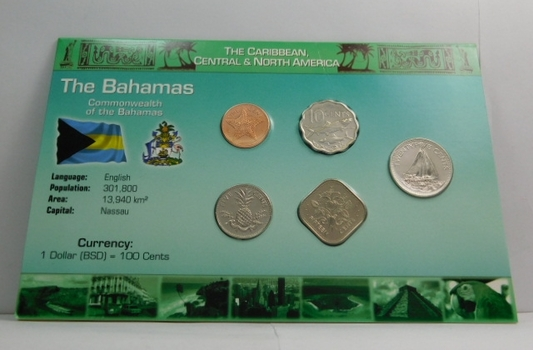 The Bahamas - Caribbean, Central & North America Coin Collection - 1992-2007 - Brilliant Uncirculated
