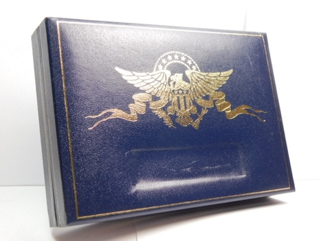 2003 Gold State Quarter Collection in Gift Box - Five (5) 24K Layered Quarters
