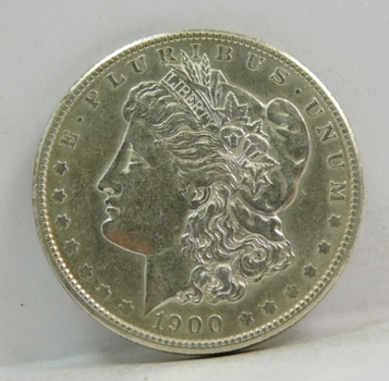 1900 Morgan Silver Dollar - Nice Detail and Luster