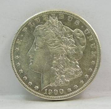 1900 Morgan Silver Dollar - Nice Detail - Philadelphia Minted
