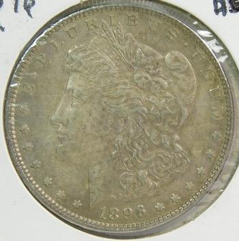 1896 Morgan Silver Dollar - High Grade