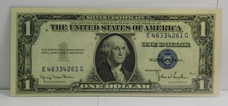 Series 1935D $1 Silver Certificate - Crisp Uncirculated