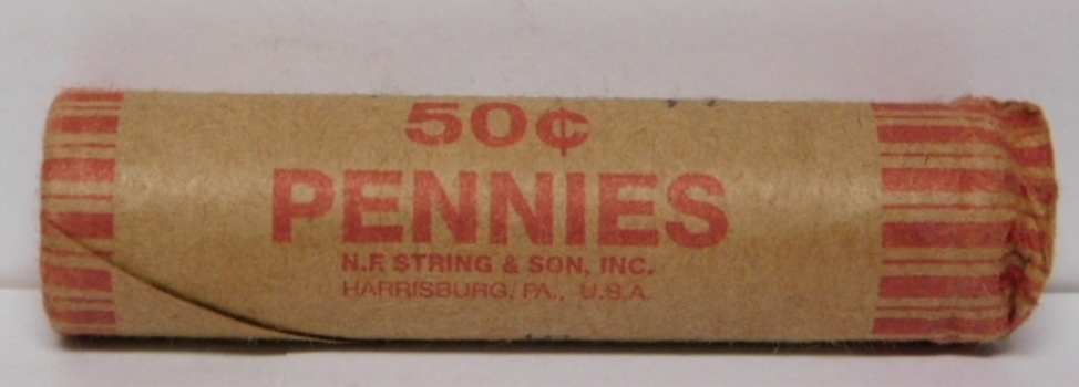 Roll of Lincoln Wheat Cents