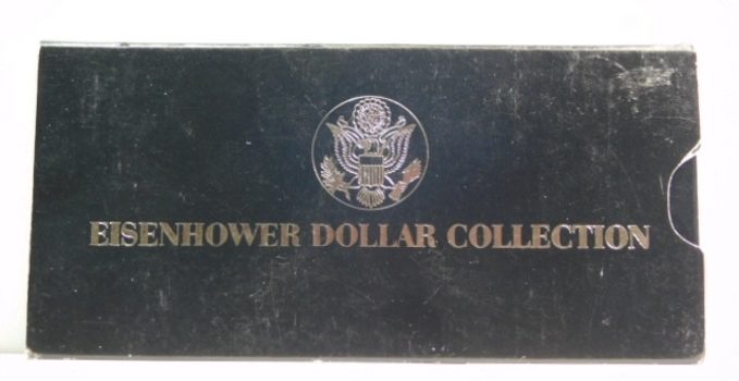 """1977 Eisenhower Dollar Collection - One 1977 and One 1977-D """"IKE"""" Dollar"""