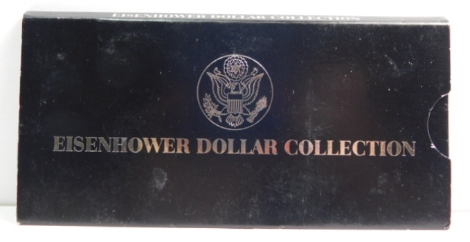 """1974 Eisenhower Dollar Collection - One 1974 and One 1974-D """"IKE"""" Dollar"""