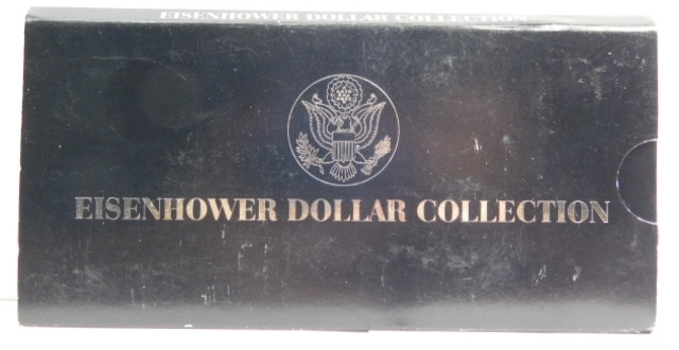 """1978 Eisenhower Dollar Collection - One 1978 and One 1978-D """"IKE"""" Dollar"""