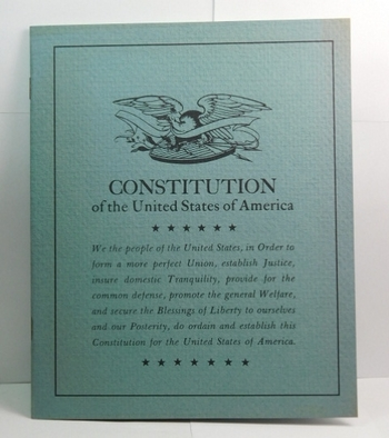 Constitution of the United States of America Bound Copy