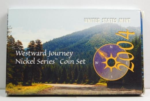 2004 & 2005 Westward Journey Nickel Series Coin Set