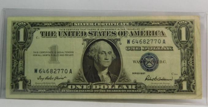 Series 1957 $1 Silver Certificate - Crisp Paper - Nice Note