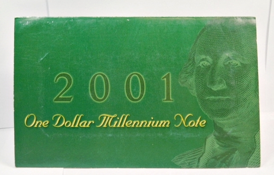 2001 One Dollar Millennium Note - $1 Atlanta Note Starts with 2001 - #F20014374A