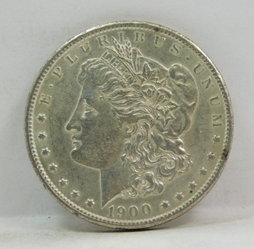 1900 Morgan Silver Dollar - High Grade with Excellent Detail and Luster