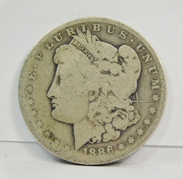 1886-O Morgan SILVER Dollar - New Orleans Minted