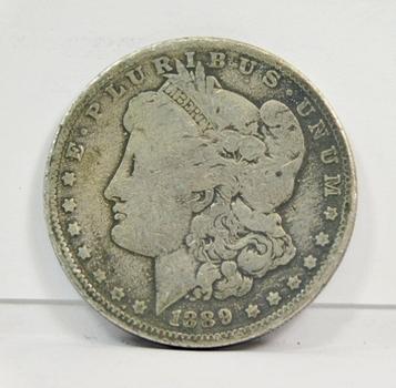 1889-O Morgan Silver Dollar - New Orleans Minted