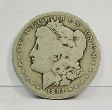1891-O Morgan SILVER Dollar - New Orleans Minted