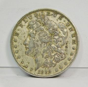 1889 Morgan Silver Dollar - Nice Detail - Philadelphia Minted