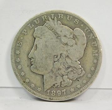 1897-O Morgan SILVER Dollar - New Orleans Minted