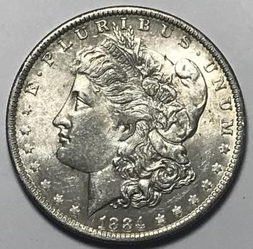 1884-O New Orleans Minted Morgan Silver Dollar - High Grade