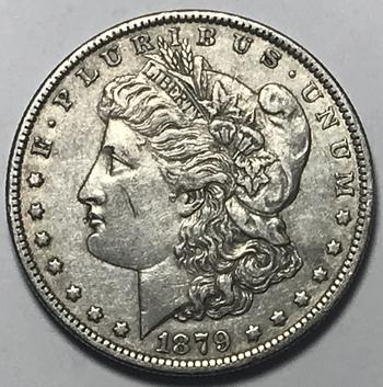 1879-O New Orleans Minted Morgan Silver Dollar