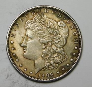 1896 Morgan Silver Dollar - Very Good Detail - Philadelphia Minted