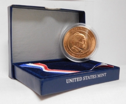 """United States Rosa Parks Bronze Medal - Mother of the Modern Day Civil Rights Movement -  1.5"""" in Diameter - In Protective Capsule and Box from the US Mint"""