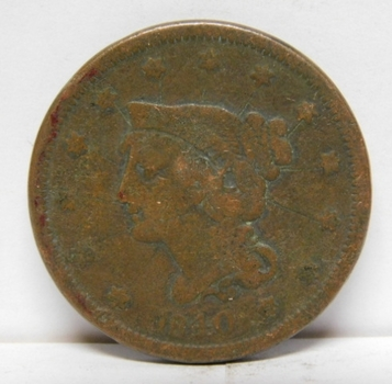 1840 Braided Hair Variety Large Cent
