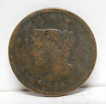 1842 Braided Hair Variety Large Cent
