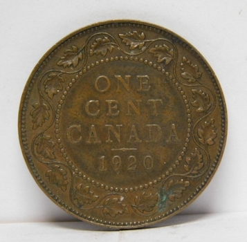 1920 Canada Large Cent - High Grade!