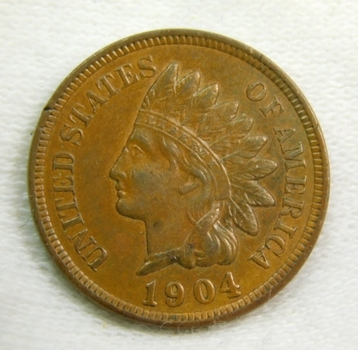 NICE COIN!! - 1904 Indian Head Cent - Excellent Detail - LIBERTY Fully Visible and Sharp - Brown