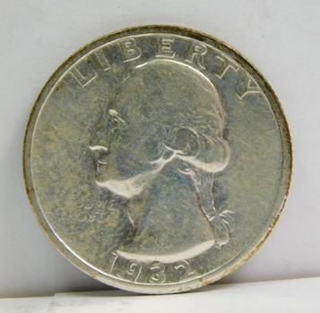 1932-S Silver Washington Quarter - Nice Detail - San Francisco Minted
