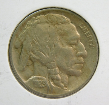 1923 Buffalo Nickel - High Grade w/Full Horn