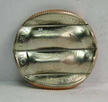 MINT ERROR - 2013-D Mount Rushmore Commemorative Quarter - Waffle Coin Error