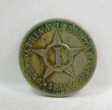 1916 Cuba 1 Centavo