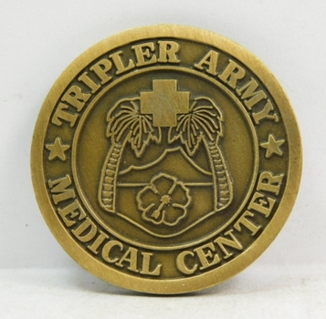 "Challenge Coin - U S Army - Tripler Army Medical Center - 1.5"" Diameter"