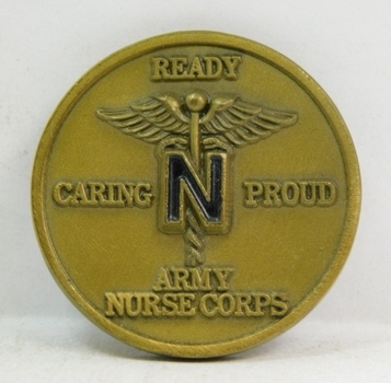"Challenge Coin - Army Nurse Corps - 1.5"" Diameter"