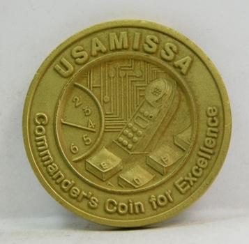 """Challenge Coin - USAMISSA - 1.5"""" Diameter"""