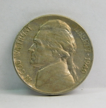 1940 Jefferson Nickel - Excellent Detail on a Higher Grade Coin