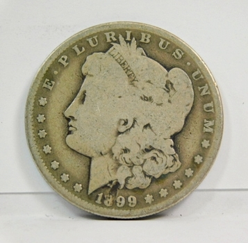 1899-O New Orleans Minted Morgan Silver Dollar